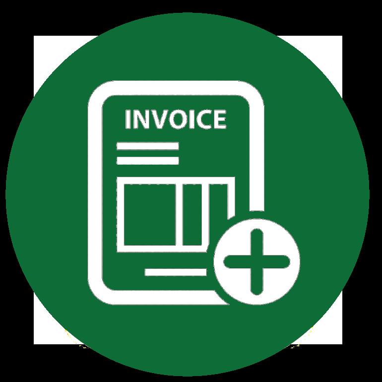 Invoice discrepancy check circle
